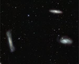 The Leo Triplet. Credit: ESO/INAF-VST/OmegaCAM. Acknowledgement: OmegaCen/Astro-WISE/Kapteyn Institute